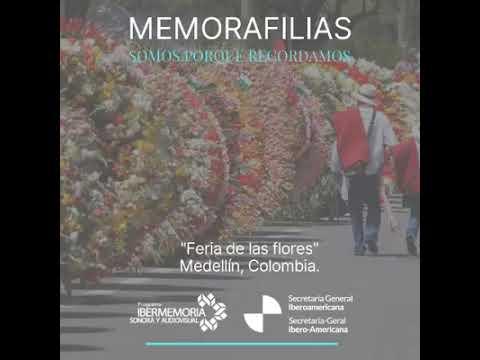 Feria de las flores en Colombia