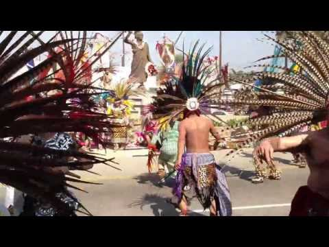 Cuauhtemoc Celebratioin Lincoln Heights, CA  February / 2012    Video 3