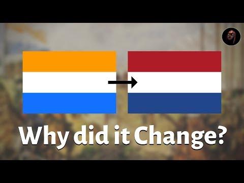 Why Isn't The Dutch Flag Orange?