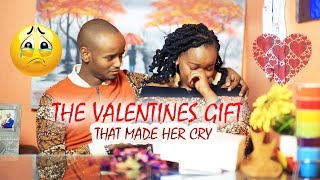 SHE CRIED WHEN SHE SAW HER VALENTINES GIFT | PLANNING THE SURPRISE