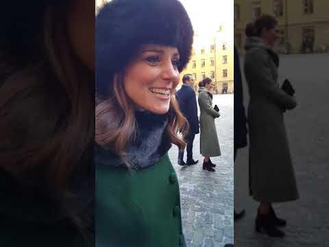 👑Chatting with Kate Middleton, Princess Victoria & Prince Daniel👑