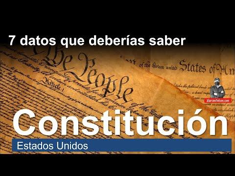 7 datos que deberías saber sobre de la Constitución de los Estados Unidos