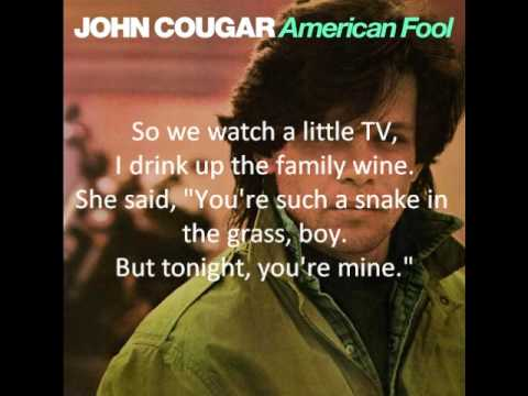 John Cougar: Can You Take It
