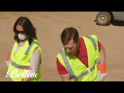 Daniel Bryan brings a pregnant Brie Bella on an eye-opening trip to the landfill: Total Divas, Sep..