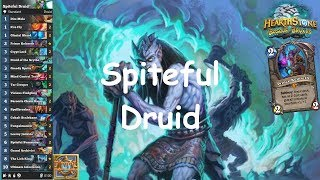 Hearthstone: Spiteful Druid #18: Witchwood (Bosque das Bruxas) - Standard Constructed