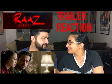 RAAZ REBOOT TRAILER REACTION | EMRAAN...