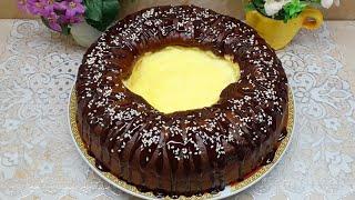 Я влюбилась в этот Пирог Очень вкусный и нежный пирог ВУЛКАН