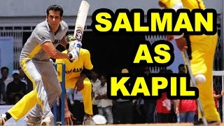 Salman Khan As Kapil Dev in Kapil Dev's Biopic Movie Based On 1983 World Cup