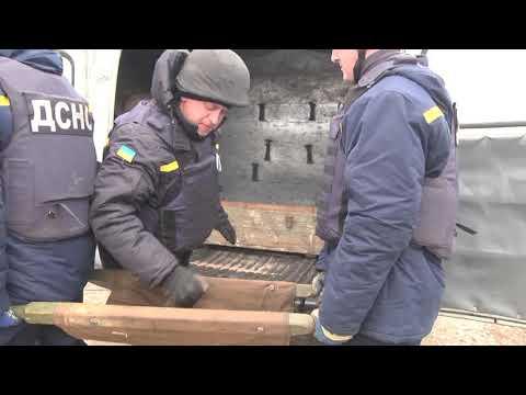 MNSKHM: На Хмельниччині піротехніки ГУ ДСНС знищили черговий арсенал боєприпасів часів Другої Світової війни