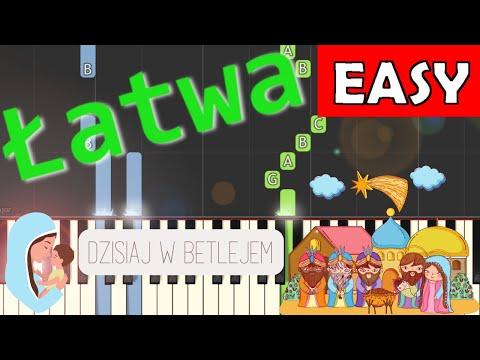 🎹 Dzisiaj w Betlejem - Piano Tutorial (łatwa wersja) 🎹