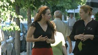 السيدة التي تضع عناصر داعش خلف القضبان في البانيا