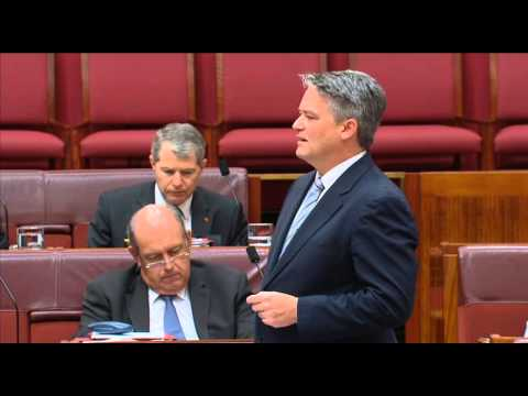 Senate question time: Did the Abbott Government just set up a $5bn Galilee Basin coal slush fund?