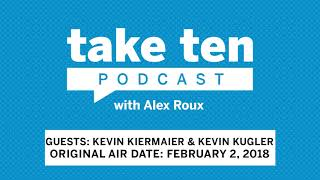 Take Ten with Alex Roux: Tampa Bay Rays CF Kevin Kiermaier & Kevin Kugler (Air Date: February 2, 201 thumbnail