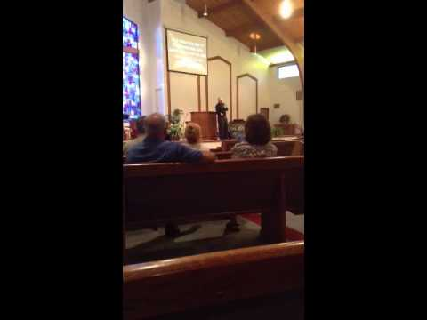 David Greenwell Preaching