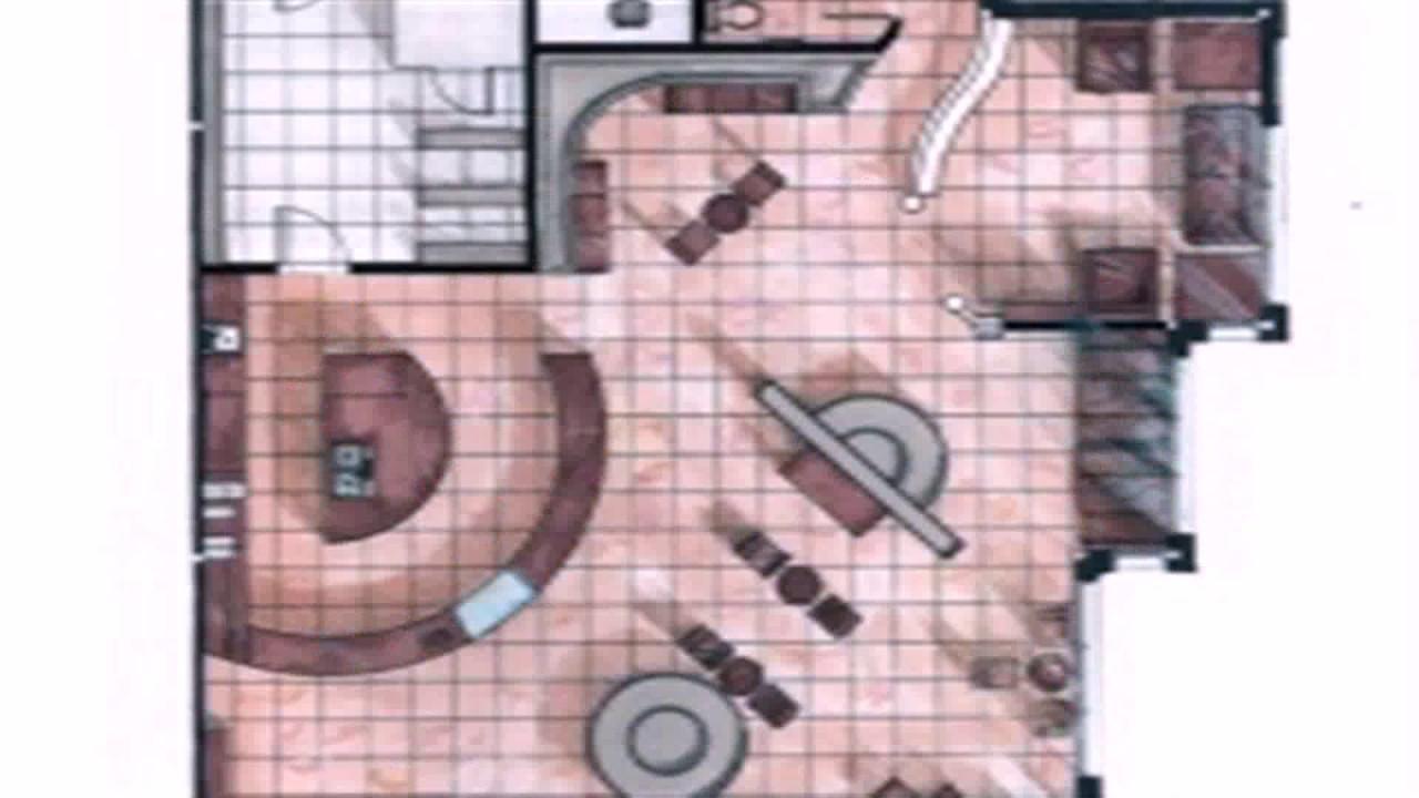 Floor Plan Layout Coffee Shop