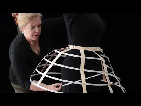 How to Make a Cage Crinoline