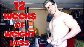 12 Week Weight Loss Transformation