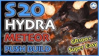 Diablo 3 Season 20 Wizard Push Build: Hydra and Meteor (Ice & Fire Wizard) Patch 2.6.8