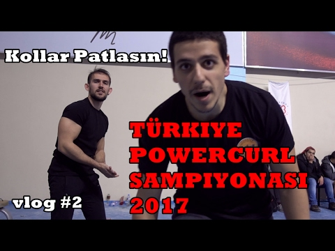 Power Curl Türkiye - Fırat(36) vs Güray(42)  (Vlog 2)