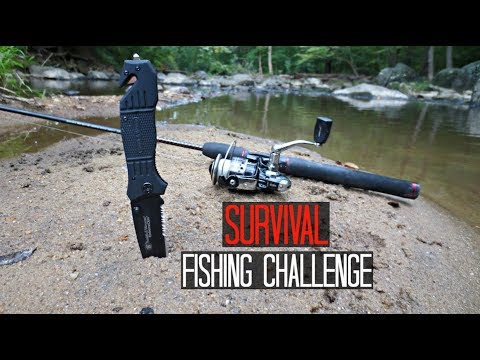 Survival Fishing Challenge No Lures Bait