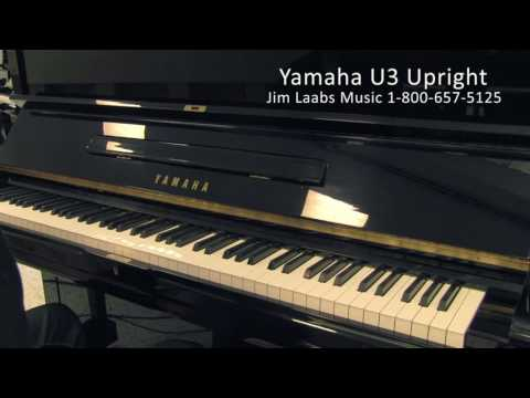 Yamaha U3 Upright Piano - Serial Number 2551130