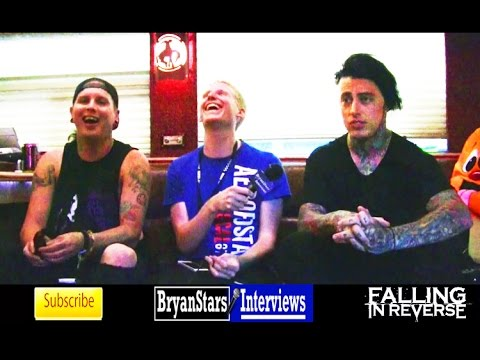 Falling In Reverse Interview #4 Ronnie Radke & Max Green Warped Tour 2014