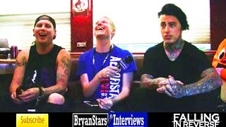 Falling In Reverse Interview #4 Ronnie Radke & Max Green Warped Tour 2014