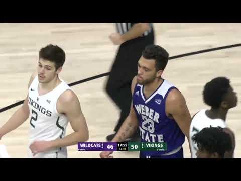 Weber State beats Portland State in OT - 1/12/19
