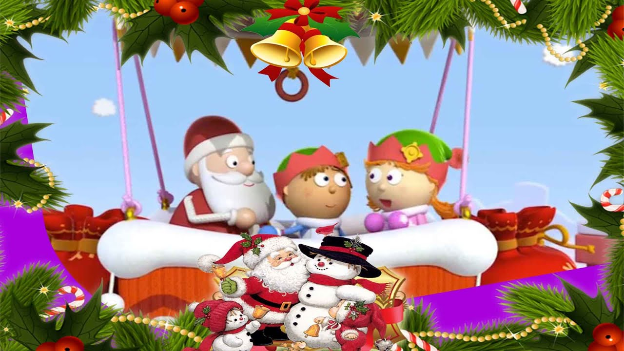 Santa's Sleigh! | Tickety Toc | ZeeKay Junior - YouTube