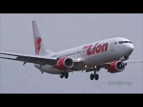Thai Lion Air 737-900ER Touch n' Go & Abort Landings @ KPAE Paine Field