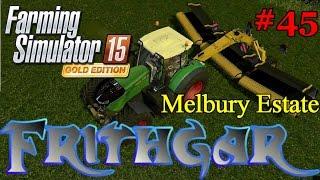 Let's Play FS15 Melbury Estate #45: ROC RT 1000 Merger!