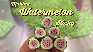 #29 STICKY | Watermelon Hard Candy, The Making Watermelon Image Candy, How It's Made