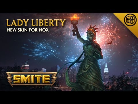 SMITE - New Skin for Nox - Lady Liberty