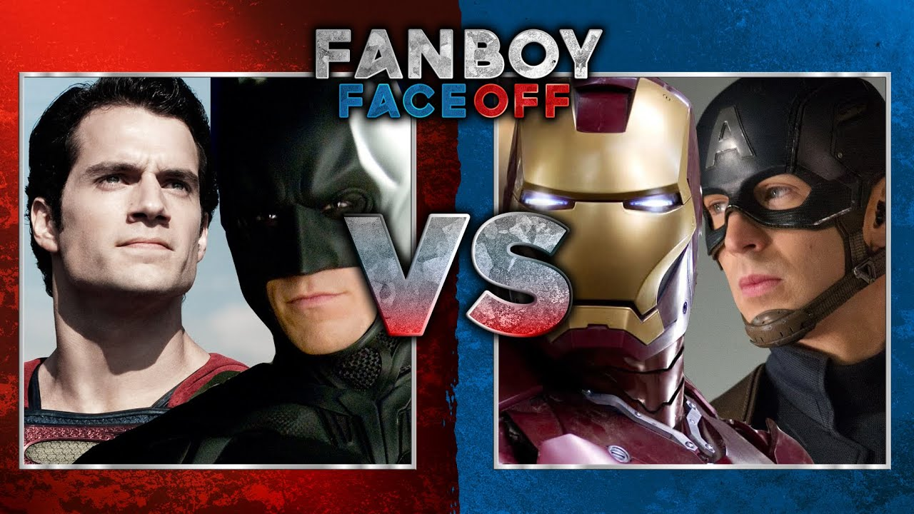 batmansuperman vs captain americairon man fanboy faceoff youtube batman superman iron man