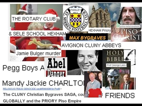 The CLUNY Christian Bygraves SAGA, country SOLD GLOBALLY and the PRIORY Piso Empire