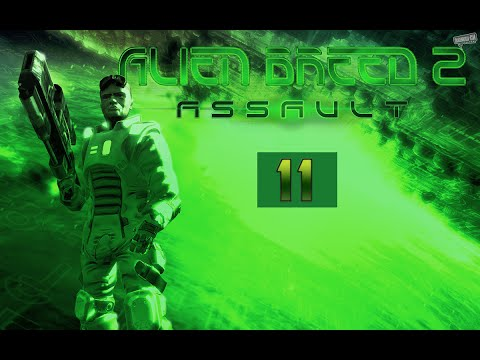 Alien Breed 2 - Assault Прохождение 11: Испорченный Часть - 1.