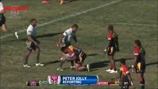 PNG Hunters Vs Ipswich Jets ISC RD22 Highlights 2015