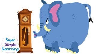 Hickory Dickory Dock | Super Simple Songs thumbnail