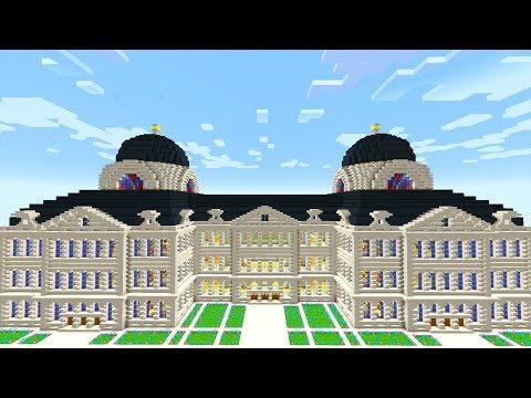 RIESIGE Paläste bauen mit nur 1 Klick! - Minecraft Instant Structures Mod
