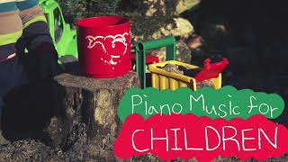 [Piano Music for Children 02] Cafe music, kids, play music, music for fresh morning