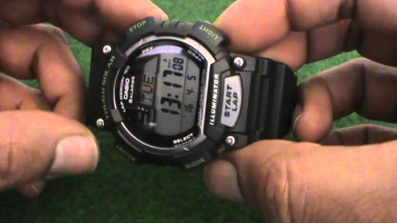 69cd5e090481 CASIO TOUGH SOLAR STL- S100H - 1AVEF - Sports Watch - YouTube