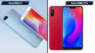 Xiaomi Redmi 6 Pro vs Xiaomi Redmi 6: Comparison overview Hindi हिन्दी