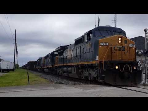 First Train in two years on closed CSX Illinois Subdivision