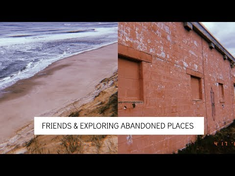 VLOG: new friends, abandoned Air Force base & more!
