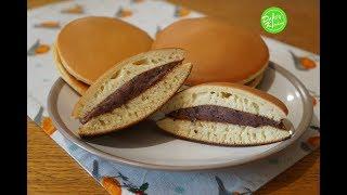 Cách làm Bánh Rán Nhân Đậu Đỏ - Dorayaki Recipe