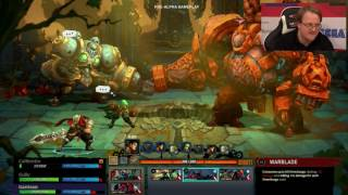 Battle Chasers Nightwar on show at the PC Gamer Weekender.