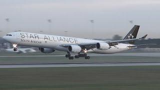 20mins of 26L Arrivals at Munich Airport (HD)