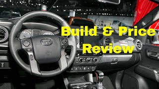 2019 Toyota Tacoma TRD Off-Road Double Cab with 6-ft. Bed - Build & Price Review