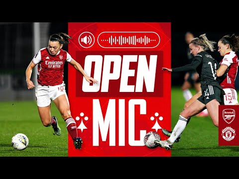 OPEN MIC   Katie McCabe   Arsenal vs Man Utd (2-0)   Compilation