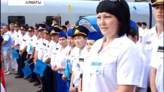 Запущен скоростной поезд «Алматы - Петропавловск»